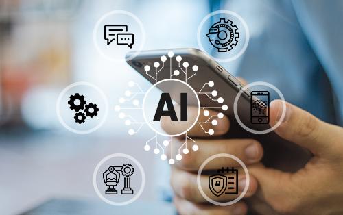 Muestra casos de uso de IA con sugerencias sobre el enfoque correcto para cada caso de uso.  Las sugerencias incluyen debe hacer, debe hacer, evaluación caso por caso o puede hacer.