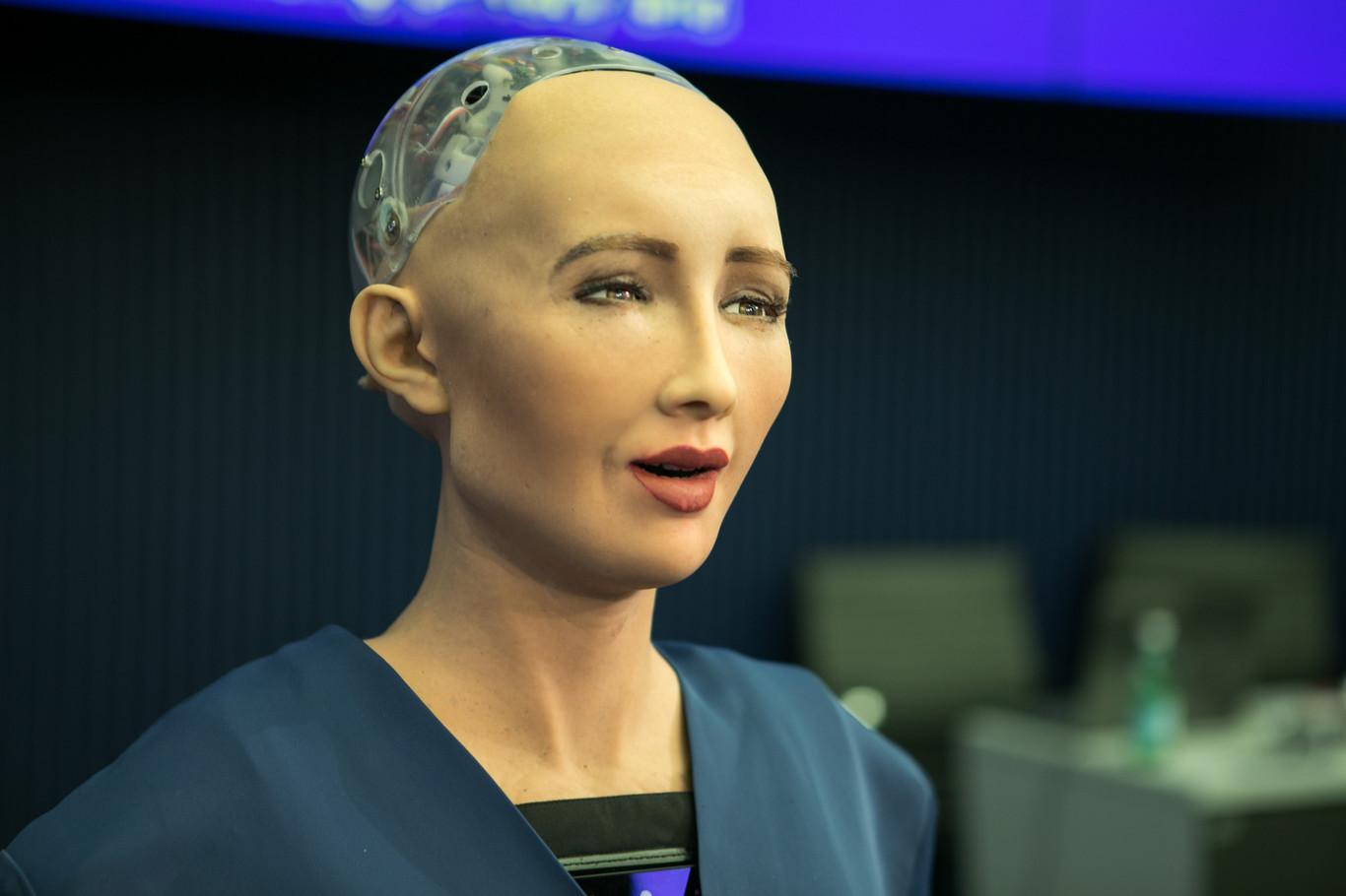 Sophia el robot con Inteligencia Artificial